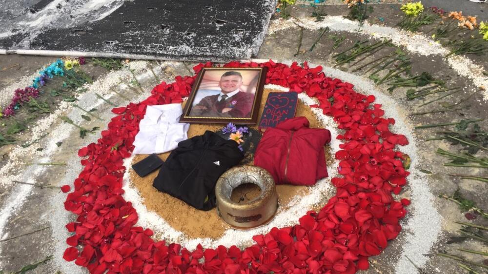 Homenajes a Dilan Cruz en Bogotá. Foto BLU Radio.jpeg