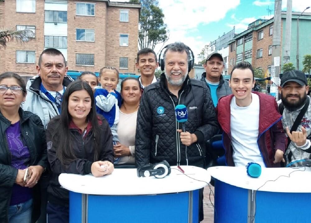 347014_BLU Radio. Alberto Linero en Kennedy. Foto: BLU Radio