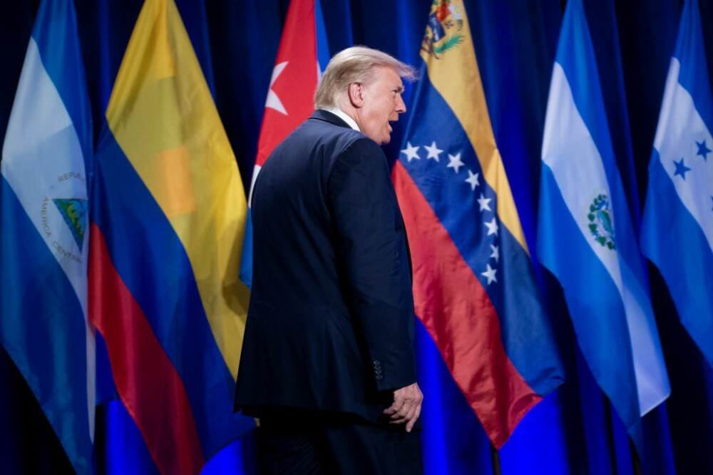 Donald Trump en campaña electoral