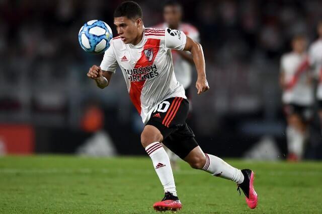 333668_Juan Fernando Quintero, jugador de River Plate