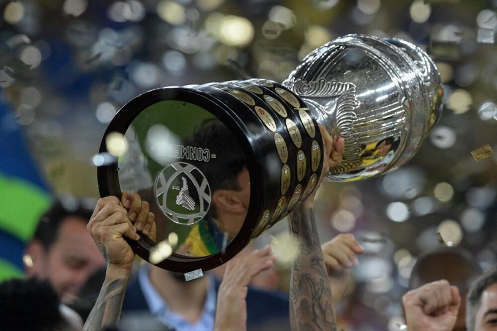 Trofeo Copa América AFP.