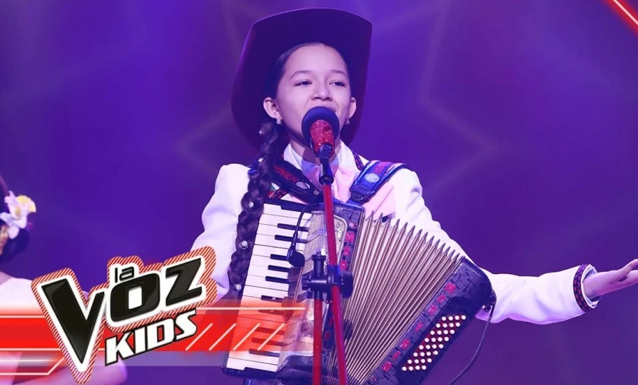 María Liz Patiño clasificó a la final de La Voz Kids