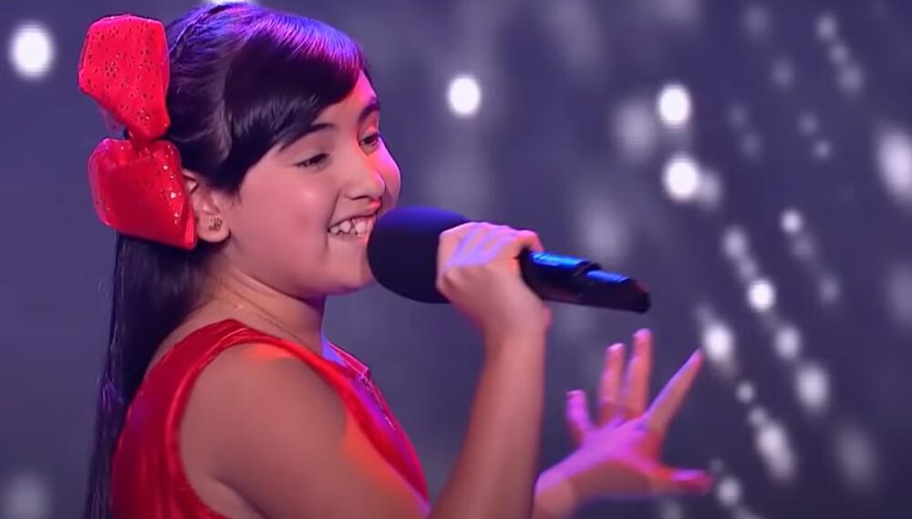 Majo, la talentosa participante de La Voz Kids