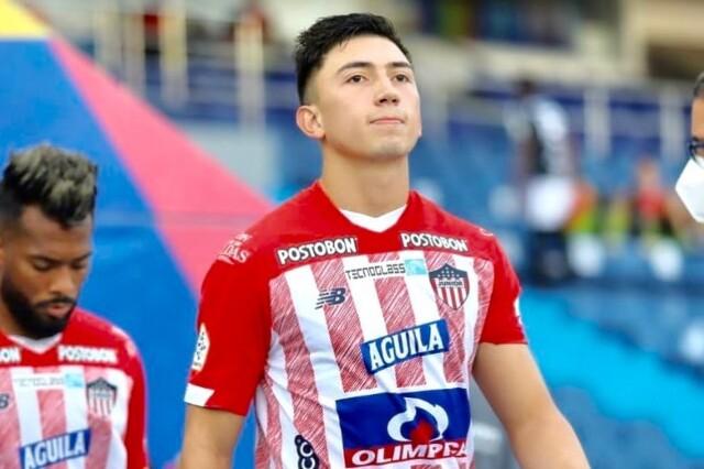 Fabián Ángel, jugador del Junior de Barranquilla