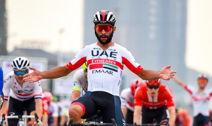 Fernando Gaviria, ciclista colombiano del UAE Team Emirates.