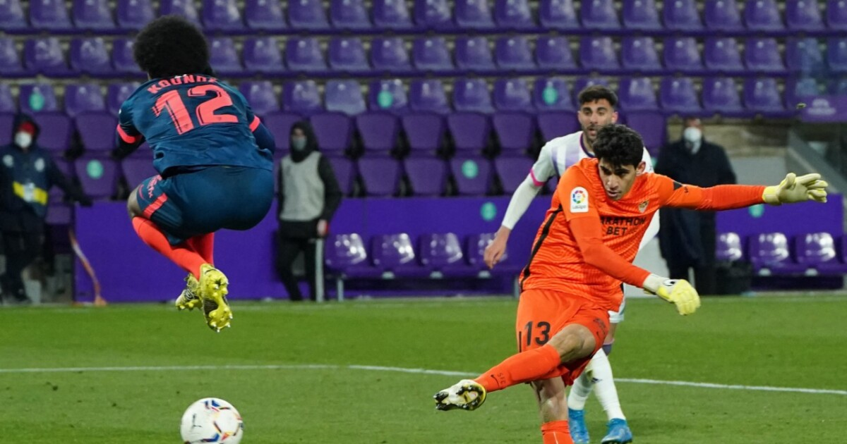 A lo Camilo Vargas: el arquero del Sevilla se vistió de goleador y puso el 1-1 del Sevilla frente al Valladolid