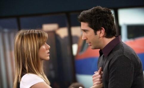 Jennifer Aniston y David Schwimmer, actores de 'Friends', sobre los rumores de su supuesta relación