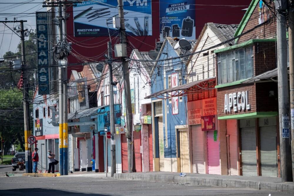 Confinamiento por rebrote de coronavirus en Bogotá AFP.jpeg