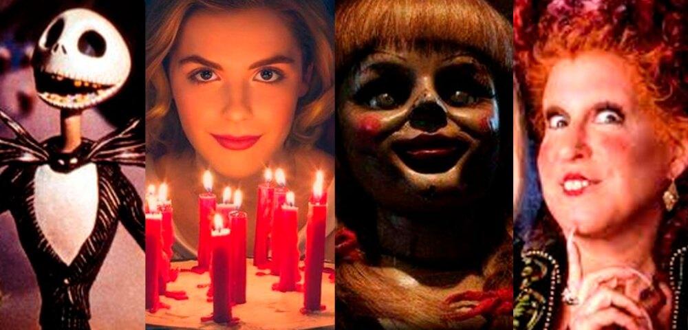 643643_El extraño mundo de Jack, El mundo oculto de Sabrina, El conjuro, Hocus Pocus.