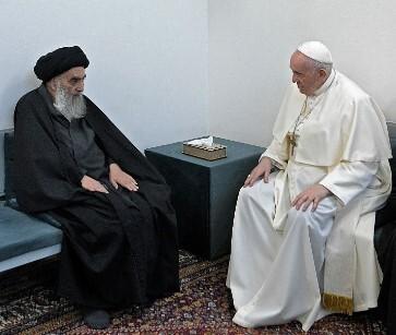 Ayatolá Sistani - Papa Francisco .jpg