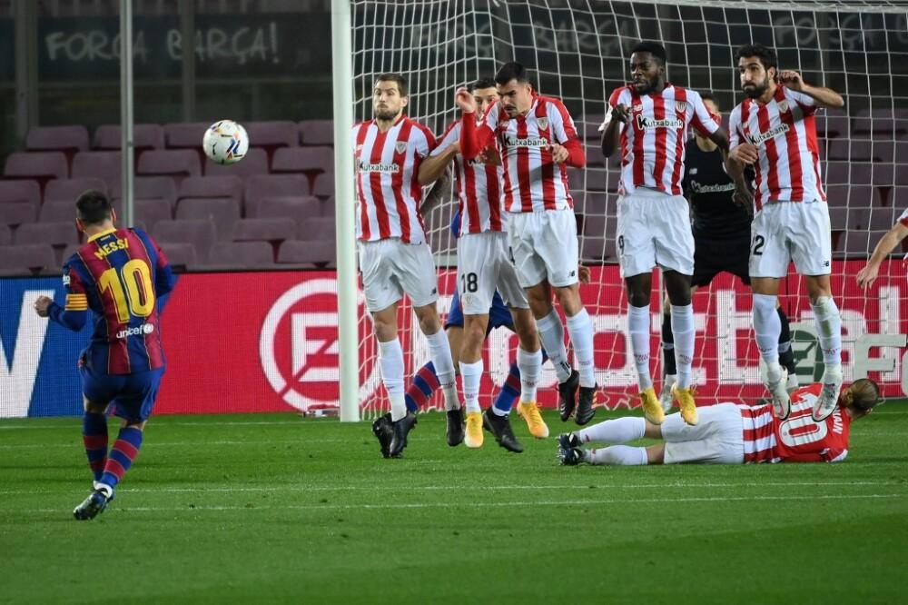 Gol Lionel Messi, Barcelona vs Athletic Bilbao