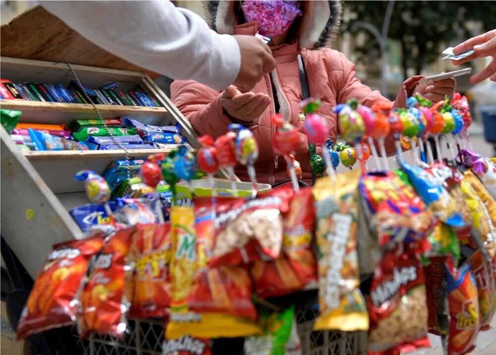 375746_Comercio informal // Foto: AFP