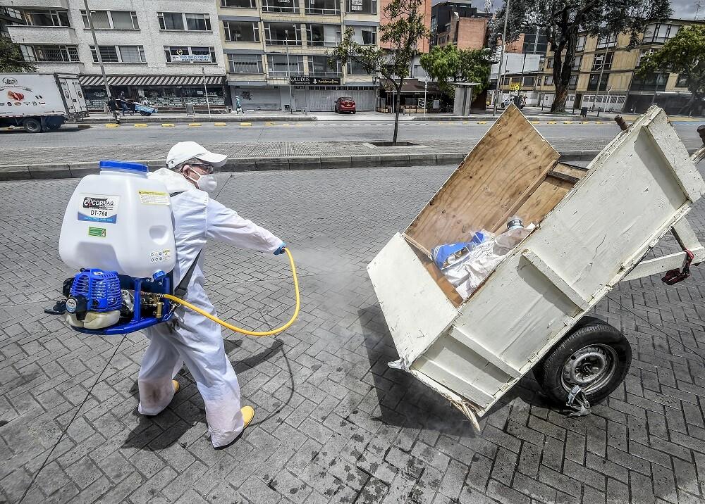 365019_Bogotá. Foto: AFP