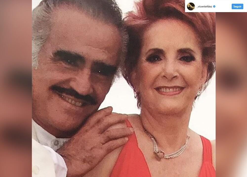 5542_La Kalle - Vicente Fernández le dedica canción a su 'CUQUITA' Foto: Instagram