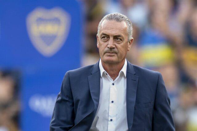 332407_Gustavo Alfaro, extécnico de Boca Juniors.